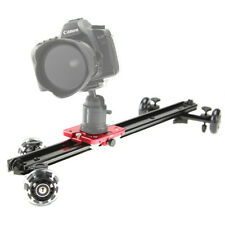 """Kamerar SD-1 MKII 23"""" Slider Dolly with Pulley System: DSLR, Video, Smartphone"""