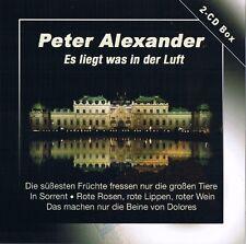 """PETER ALEXANDER """"Es liegt was in der Luft"""" 2CD-Box NEU & OVP 50 Tracks"""