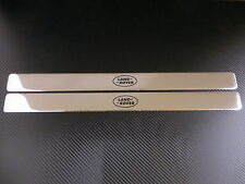 LAND ROVER LOGO chrome door sills sill plate