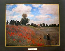 "CLAUDE MONET ""POPPIES"" Large Lithograph"
