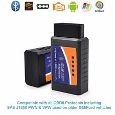 ELM327 Bluetooth OBD2 Car Diagnostics Scanner v1.4 for Android Windows PC Mac
