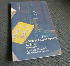 alfred jarry love making visits '02 softcover avant-garde novel porn theatre pb!