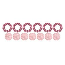 "Quickutz/Lifestyle Crafts DC0398 ""Doily Punches""  4 Cutting Dies  NEW"