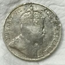 1910 KEVll 10 cents silver  coin #3 very nice!
