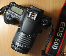 Canon EOS 60D 18Mp DSLR with 18-55mm IS II Lens, 100% OK Working! Full HD Video