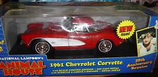 Ertl American Muscle  Animal House 1961 Corvette, red, 1/18 Scale Diecast