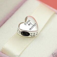 Authentic Pandora Mother and Friend 791518 MoM Gift Charm with Box