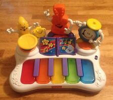 Fisher-Price Little Superstar Jammin' Band Piano - Cute!