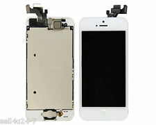 New Iphone 5 5G White LCD Touch Digitizer Glass Screen Assembly with Home Button