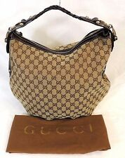 Authentic Gucci GG Medium Pelham Hobo Handbag