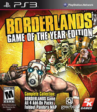 Borderlands Game of the Year Edition PS3 New Playstation 3