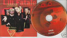 LILI FATALE Self-Titled (CD 1997) Quebec French Rare French Rock Free Shipping