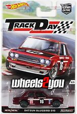 DATSUN BLUEBIRD 510 - 2016 Hot Wheels Car Culture TRACK DAY - D Case -