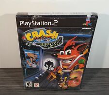 Crash Bandicoot: The Wrath of Cortex (PS2) RARE 1st Print (Black Label)