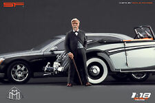 1/18 Wilhelm Maybach VERY RARE!!! figures for1:18 CMC Autoart Mercedes