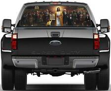 Jesus We The People Constitution Window Graphic Decal Sticker Truck SUV Van Car