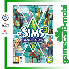 The Sims 3 Generations Add-on PC/Mac Key EA Origin Download Game Code EU UK NEW