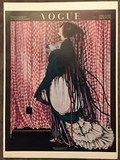 Vintage Vogue Magazine Poster April 15, 1915 Authorised 1970's Reprint 39x28cm 8
