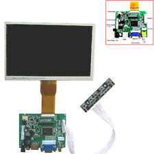 7 inch LCD Screen Display Monitor + Driver Key Board HDMI/VGA/2A Fr Raspberry Pi