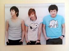 Super Junior Official SM Photo 2007 photo of the month, Shindong Leeteuk - Rare