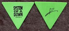 SYSTEM OF A DOWN 2011 Tour Guitar Pick!! DARON MALAKIAN custom concert stage #3