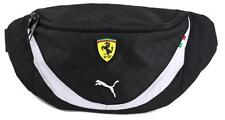 NEW PUMA PREMIUM CLASSIC FERRARI F1 TEAM WAIST BAG FANNY PACK BLACK PMMO1028
