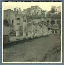 Italia, Herculanum  Vintage silver print. Italy.Located in the shadow of Mount