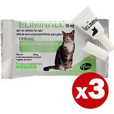 ELIMINALL ANTIPARASSITARIO - GATTI - (Generico FRONTLINE) - 3 PIPETTE