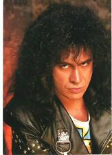 KISS Gene serious in leather magazine PHOTO / mini Poster 11x8 inches
