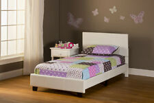 Hillsdale Furniture 1642-330 Springfield Bed in a Box Bed Set - Twin White PU