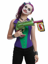 NEW! DC Comics The Joker Inflatable Blow Up Toy Gun Batman Costume Cosplay
