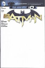 BATMAN THE NEW 52 #0 BLANK SKETCH COVER VERY FINE 2011 (2011 SERIES) DC COMICS