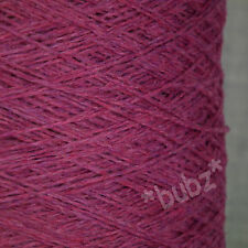 TODD & DUNCAN LAMAINE SUPERFINE GEELONG LAMBSWOOL YARN 3 PLY 500g CONE PINK WOOL