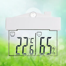 Indoor/Outdoor Temperature Humidity Meter LCD Digital Thermometer Hygrometer