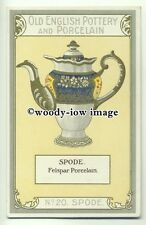 su2024 - Old English Pottery & Porcelain - Spode - postcard Chairman Cigs
