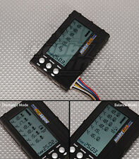 BATTERY MEDIC SYSTEM LCD 2-6S LIPO LIFE VOLTAGE CELL CHECKER BALANCE & DISCHARGE