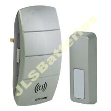 Wireless UK PLUG IN Cordless Door Bell Chime Portable volume control