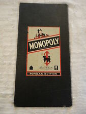 Vintage Parker Brothers MONOPOLY Board Copyrights 1935,1946,1954 USA
