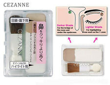 [CEZANNE] Nose Shadow Highlight and Contour Duo Shades Palette JAPAN NEW