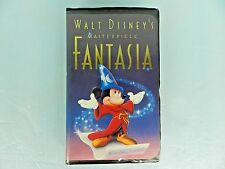 RARE! WALT DISNEY'S MASTERPIECE ~ FANTASIA ~ VHS TAPE #1132