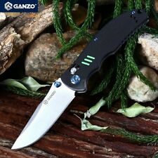 Coltello New Ganzo G7501 BLACK Axis Lock Survival Knife Camping Outdoor