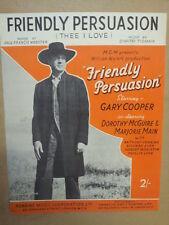 Canción Hoja amistosa persuasión Te Amo, Gary Cooper 1956