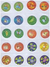 Pokemon 2 - Complete set of 100 SPECIAL EDITION Tazos Pogs Tasos Caps Chips Taps