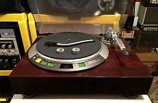 Denon DP-57L TURNTABLE-RECAPPED and RESTORED! w/BOTH ARMS!