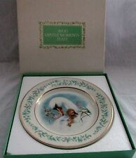 AVON COLLECTORS WEDGEWOOD PLATE GENTLE MOMENTS 1975 MIB