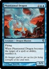 *MRM* ENG 4x Dragon phantasmatique (Phantasmal Dragon) MTG Duel deck