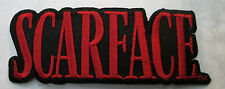 SCARFACE COLLECTABLE RARE VINTAGE PATCH EMBROIDED