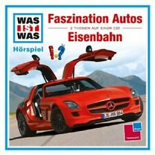 WAS IST WAS - FOLGE 02: FASZINATION AUTOS/EISENBAHN  CD  KINDER-HÖRSPIEL NEU