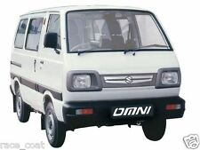 Maruti Suzuki Omni Van Body Cover in Silver Matty Cloth - OMNI