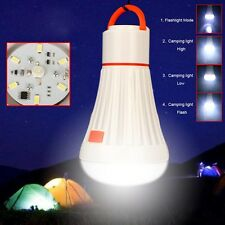 6LED + 3W Portable Outdoor Camping Tent Light Lantern Hiking Fishing Lamp Torch